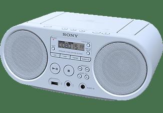 SONY ZS-PS50 Boombox CD Radio, Blau