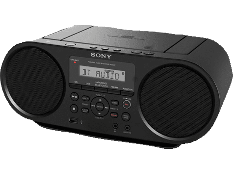 SONY ZS-RS60BT CD Player (Schwarz)