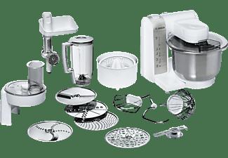 BOSCH Küchenmaschine MUM 48140 DE PROFI MIXX WEISS/SILBER