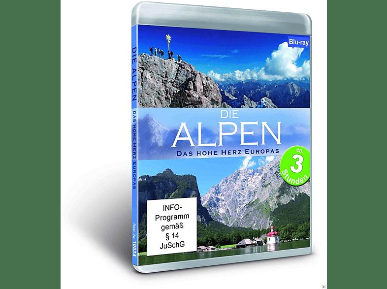 Die Alpen - Das hohe Herz Europas [Blu-ray]