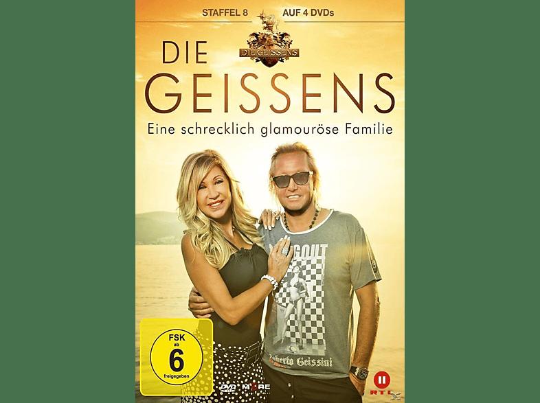Die Geissens - Eine schrecklich glamouröse Familie - Staffel 8 [DVD]
