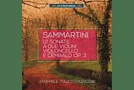 Ensemble Italico Splendore - 12 Triosonaten op.3 für Violine, Cello und Cembalo [CD]