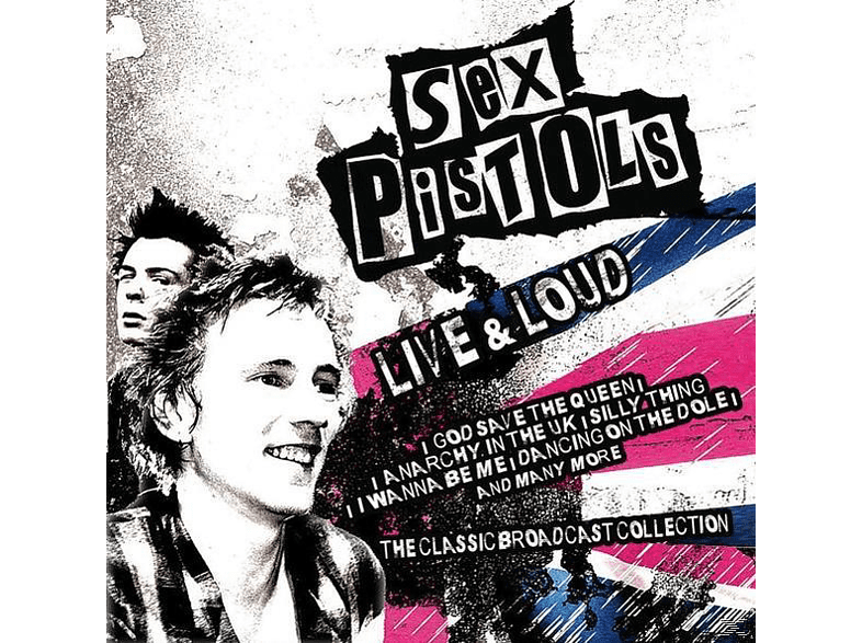 The Sex Pistols - Live And Loud [CD]