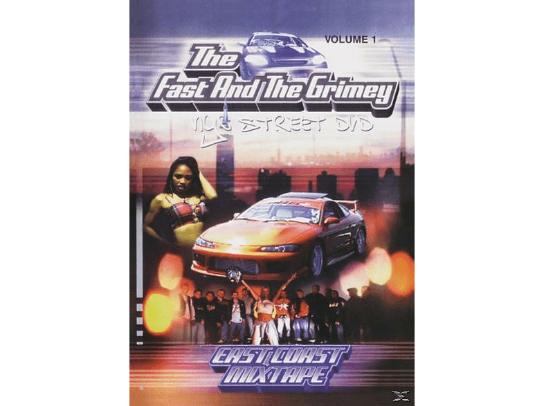VARIOUS - The Fast And The Grimey-NYC Street DVD Vol.1 [DVD]