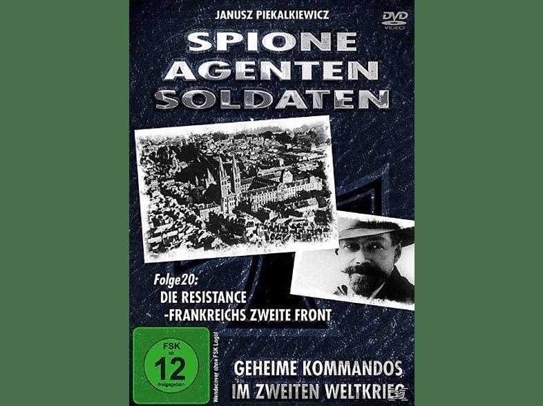 Spione, Agenten, Soldaten - Folge 20: Die Ressistance - Frankreichs Zweite Front [DVD]