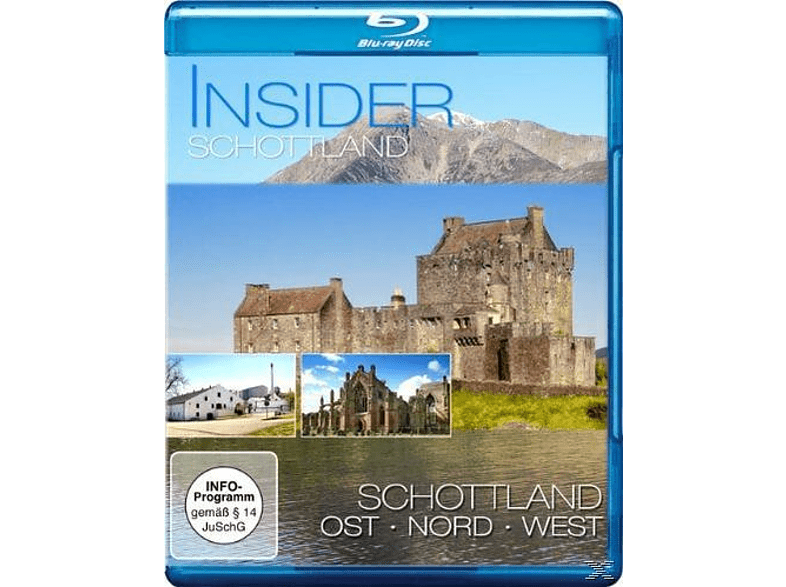 Insider Schottland - 3er Schuber [Blu-ray]