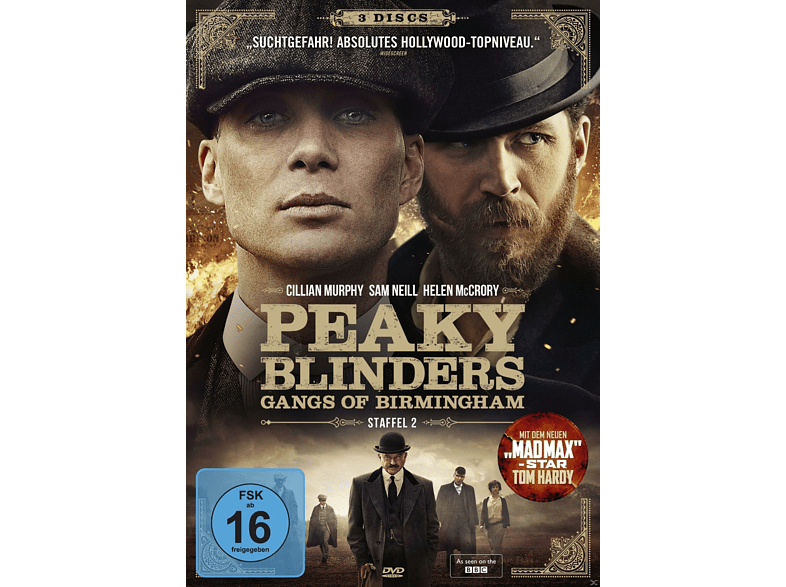 Peaky Blinders - Gangs of Birmingham - Staffel 2 [DVD]