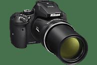 NIKON COOLPIX P900 Bridgekamera Schwarz, 16 Megapixel, 83x opt. Zoom, TFT, WLAN