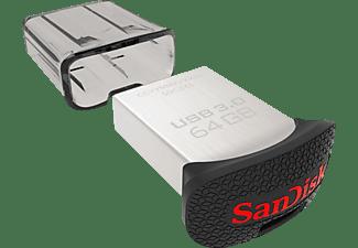 Pendrive 64GB - Sandisk Ultra Fit USB 3.0, velocidad hasta 130mb/sg