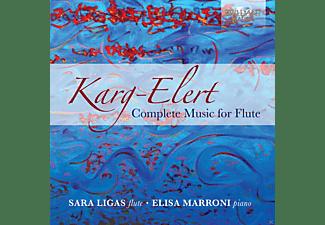 Sara Ligas, Elisa Marroni - Complete Music For Flute  - (CD)