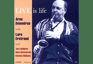 Arne Domnerus, Lars Erstrand, Jan Lundgren, Hans Beckenroth, Rasmus Kihlberg - Live Is Life  - (CD)