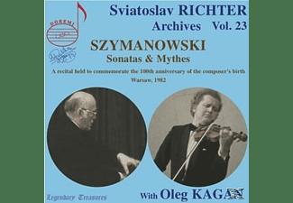 Sviatoslav Richter Oleg Kagan - Sonatas & Mythes  - (CD)