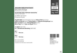 Jan Willem De The Netherlands Symphony Orchestra - Matthäus Passion  - (SACD)