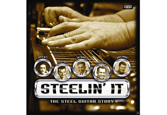 VARIOUS - Steelin'it:The Steel Guitar..  - (CD)