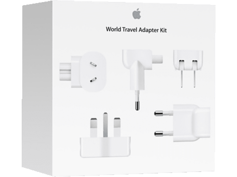 APPLE MD837ZM/A WORLD TRAVEL ADAPTER KIT Reise-Adapter-Kit