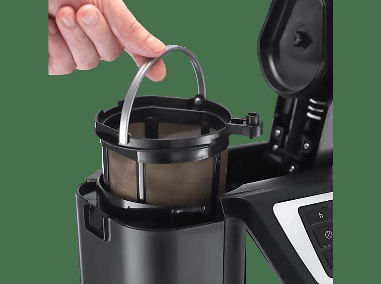 RUSSELL HOBBS 22000-56 Victory Grind&Brew Kaffeemaschine Edelstahl/Schwarz