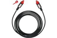 OEHLBACH Optisches Digitalkabel Red Opto Star 1000 10m optisches Digitalkabel, Schwarz