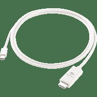SENDSTATION Mini DisplayPort HDMI Kabel, Weiß