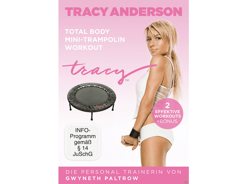 Die Tracy Anderson Methode - Total Body Mini-Trampolin Workout [DVD]