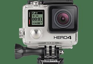 Videocámara Outdoor - GoPro Hero4 Black ES, Vídeo 4K a 30FPS, 12MP