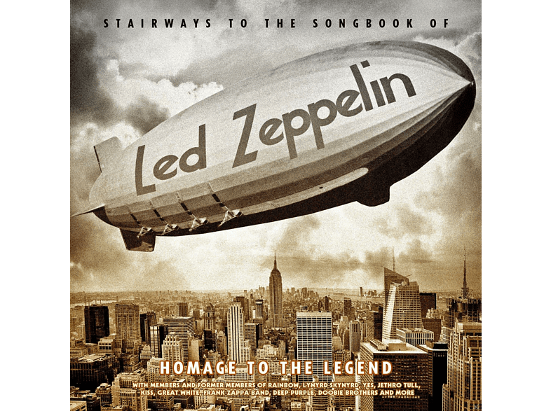 VARIOUS - Stairways To The Songbook Of Led Zeppelin-Homage [CD]