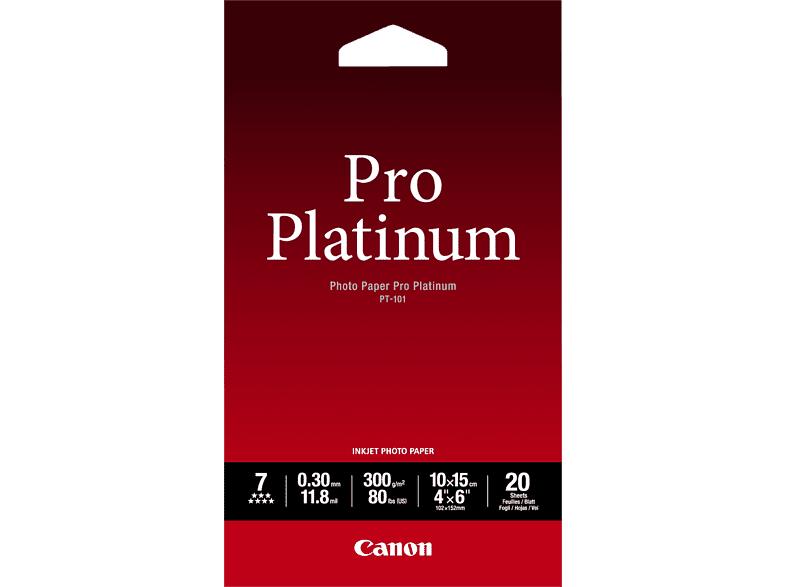 CANON PT-101  Fotopapier