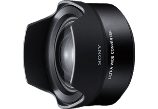 SONY VCL-ECU2 (Weitwinkelkonverter für Sony E-Mount, Schwarz)