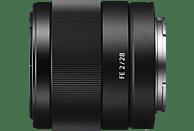 SONY 28 mm f/2 ASPH, ED, IF, Circulare Blende (Objektiv für Sony E-Mount, Schwarz)