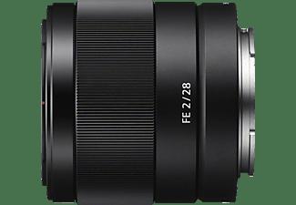 SONY SEL28F20 Vollformat - 28 mm f/2.0 ASPH, ED, IF, Circulare Blende (Objektiv für Sony E-Mount, Schwarz)