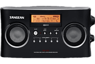 SANGEAN PR-D5 Radio (UKW, MW, Schwarz)