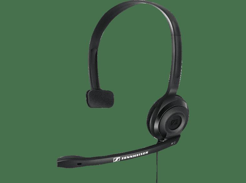 SENNHEISER PC 2 CHAT Headset Schwarz
