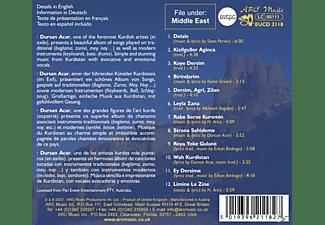 Dursan Acar - Music Of Kurdistan  - (CD)