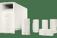 BOSE Acoustimass 10 V Lautsprechersystem (5.1 Kanal, Weiß)
