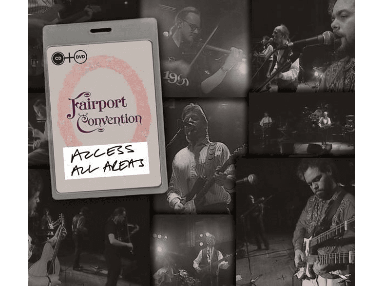Fairport Convention - Access All Areas [CD + DVD Video]