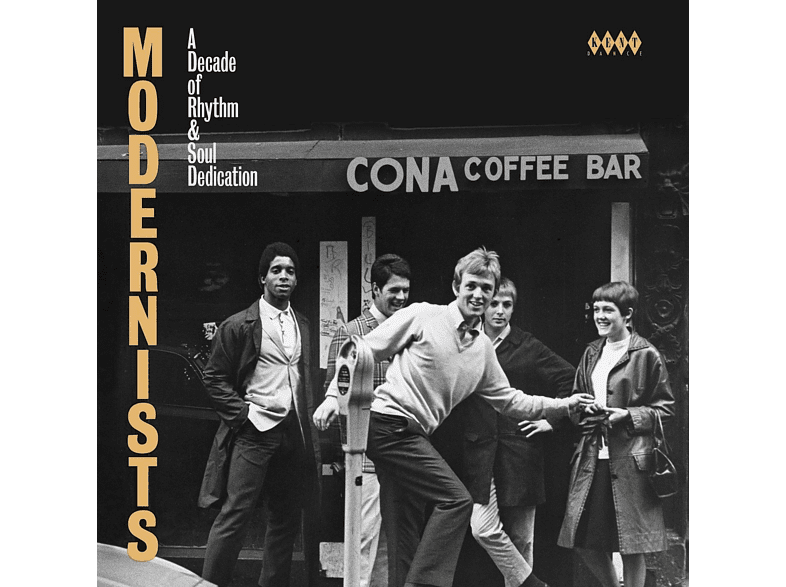 VARIOUS - Modernists-A Decade Of Rhythm & Soul Dedication [CD]