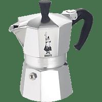 BIALETTI 1167 Moka Express Espressokocher Silber