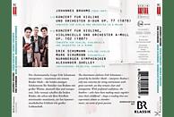 Erik Schumann - Violin Doppelkonzert [CD]