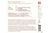 VARIOUS - H-Moll-Messe, Bwv 232 (Frauenkirche) [CD]