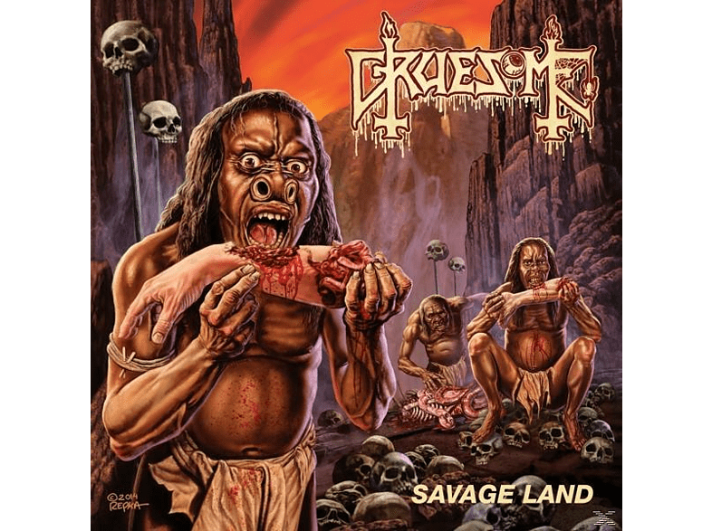 Gruesome - Savage Land [CD]