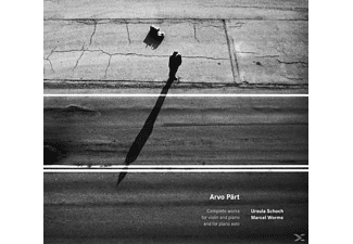 Arvo Pärt - WORKS FOR VIOLIN And PIANO  - (CD)