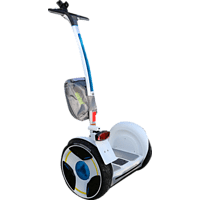 NINEBOT Elite E SCOOTER E-Scooter (12 Zoll, Weiß)