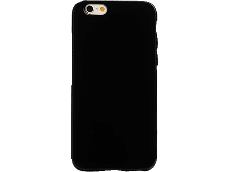 SPADA Back Case - Glossy Soft Cover - Apple iPhone 6/6S - Schwarz , Backcover, Apple, iPhone 6/6S, Thermoplastisches Polyurethan, Schwarz