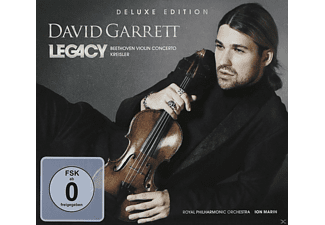 David Garrett - Legacy (Deluxe Edition)  - (CD + DVD Video)
