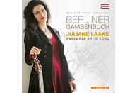 Juliane Laake, Ensemble Art d'Echo - Berliner Gambenbuch [CD]