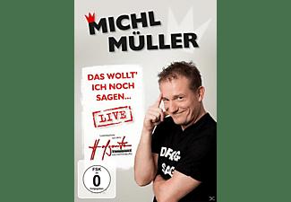 Das Wollt' Ich Noch Sagen...Live DVD