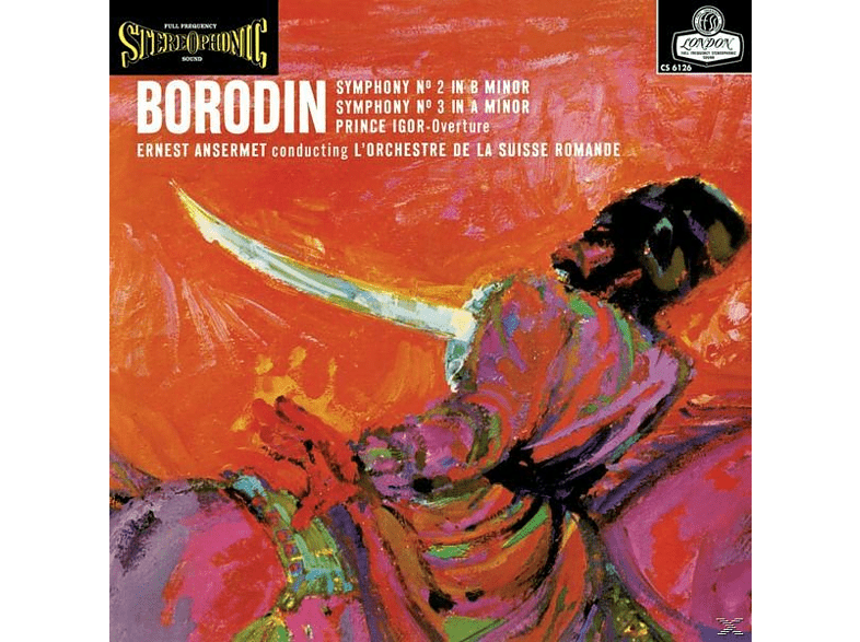 Ernest L'orchestre Suisse Romande/ansermet - Sinfonie 2+3/Priince Igor-Overture [Vinyl]