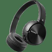 SONY MDR-ZX330BTB, On-ear Kopfhörer Bluetooth Schwarz