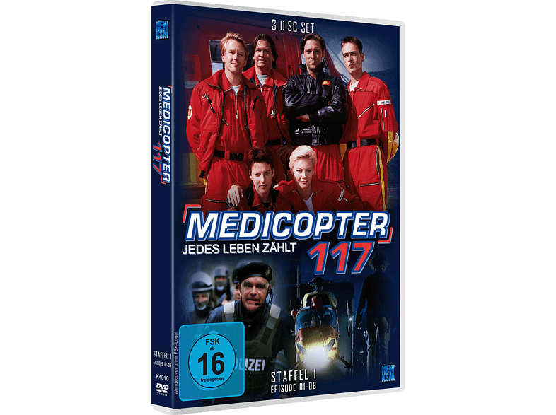 Medicopter 117 - Staffel 1 [DVD]