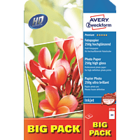 AVERY ZWECKFORM 2739 Premium Inkjet Fotopapier 210 x 297 mm 210 x 297 mm A4  40 Blatt