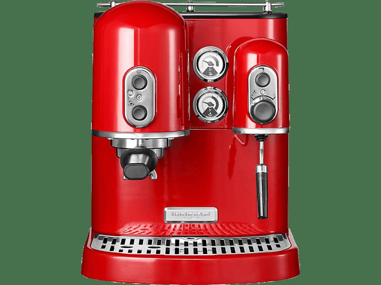 KITCHENAID 5KES2102EER Artisan Espressomaschine Empirerot